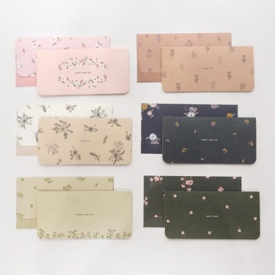 핑크풋 디어유 용돈 봉투 카드세트