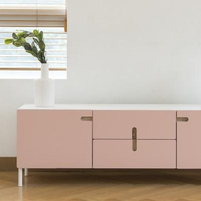 레이어스 TV거실장 (1400/W.pink)