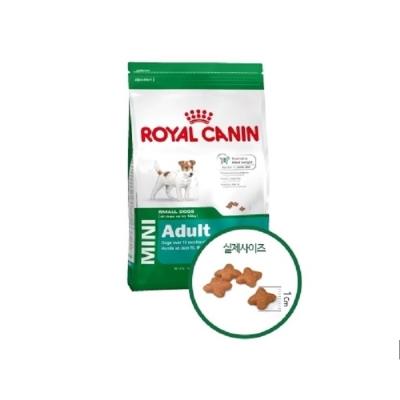 로얄캐닌 독 미니 어덜트 800g/애견사료,강아지사료
