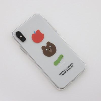 PHONE CASE.APPLE BEAR LARVA