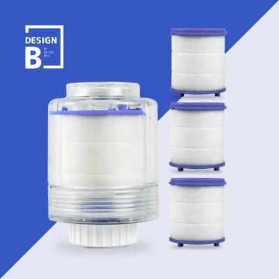 디자인비 녹물제거 세면대 본품+필터 3P SET