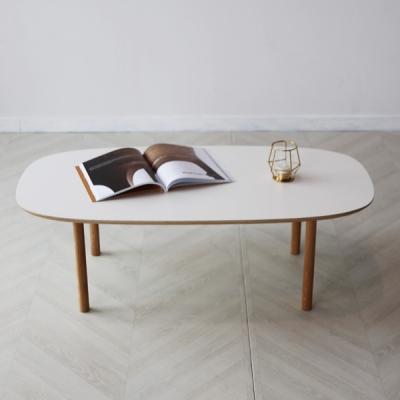 아인스엘 라미네이트 타원형 거실 원목 테이블_(2475520)