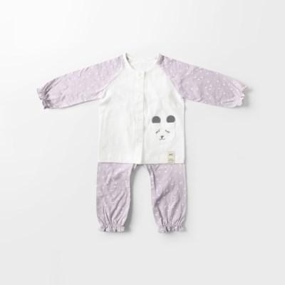 [메르베] 슬리핑마우스 신생아 유아 내복/내의/아기실내_(1378518)