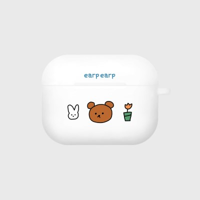 bear and rabbit-white(Air pods pro)_(1427565)