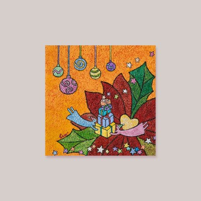 캘리엠 축복의 선물2 XKSO 캘리그라피 카드