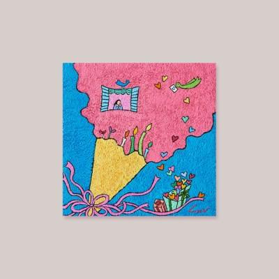 캘리엠 축복의 선물3 XKSO 캘리그라피 카드