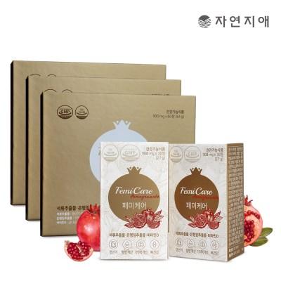 자연지애 페미케어 900mgX30정(27g)X6개 (3개월분)_(2809289)