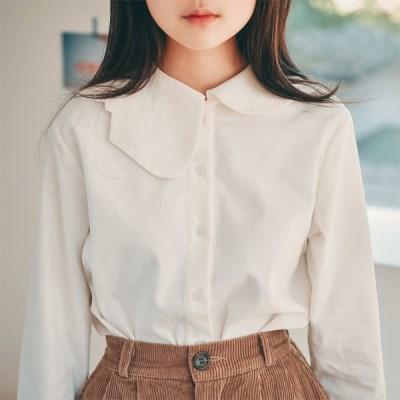 [리카앤폴제작]언발 세라 카라 기모 셔츠