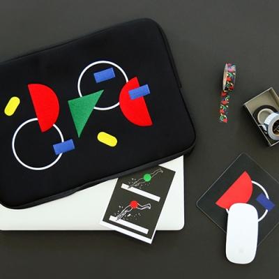 타일 노트북파우치 - 프라이머리