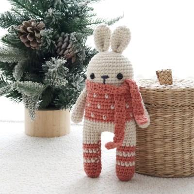 뜨리꼬얀 코바늘 토끼 애착인형 DIY 키트