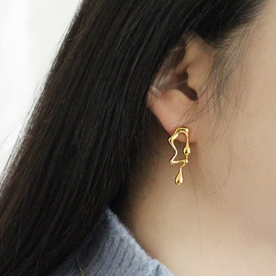 Fondant earring