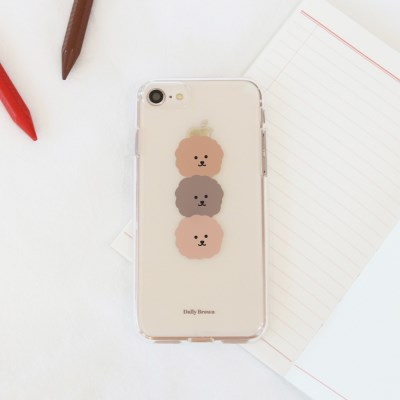 [젤리케이스] 데일리브라운 181 폰케이스 삼성갤럭시