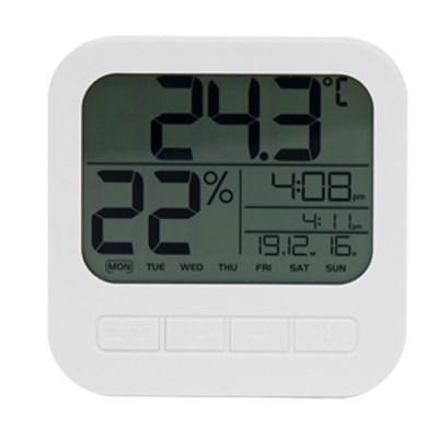 텐교 데일리 온습도계 시계