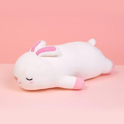 모찌모찌 꿀잠쿠션 토끼 35CM 동물인형_(1469192)