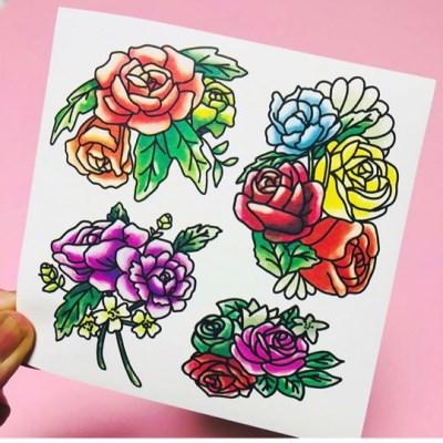 [김문구] 내가그린꽃 스티커