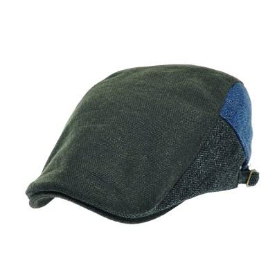 [플릭앤플록]RMH38.헤링본 3 칼라 헌팅캡 남성 모자
