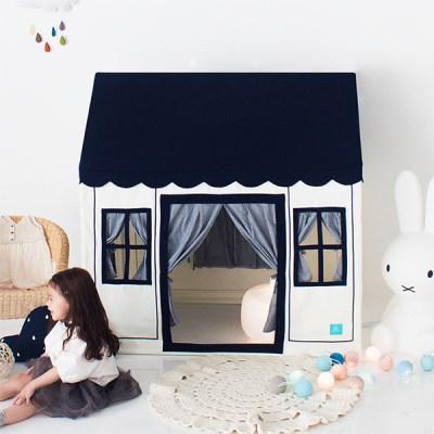 [쁘띠메종] 플레이하우스 네이비블루 2size