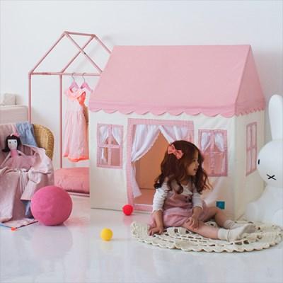 [쁘띠메종] 플레이하우스 캔디팝핑크 2size