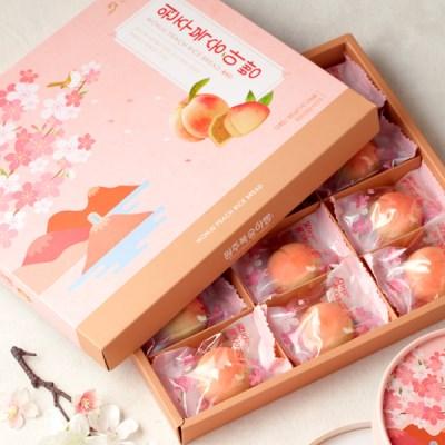 [무료배송] [오븐] 달콤하고 촉촉한~ 복숭아빵 12개입 X 5세트