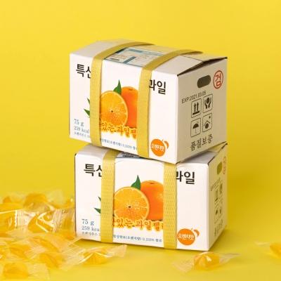 [매일리 스낵] 과일 박스, 택배 왔어요~