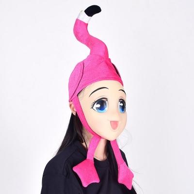 플라밍고 모자