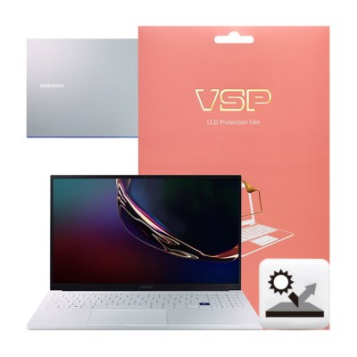 VSP 갤럭시북 이온 NT930XCR 저반사+상판 외부보호필름 각1매