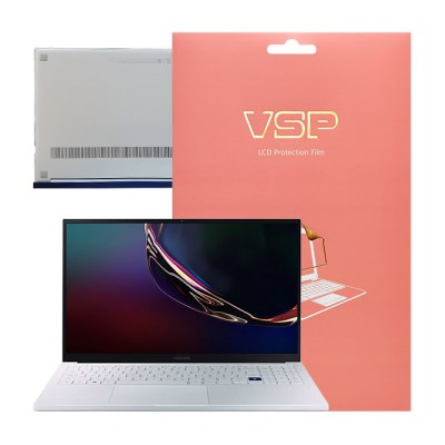 VSP 갤럭시북 이온 NT930XCR 올레포빅+하판 외부보호필름 각1매