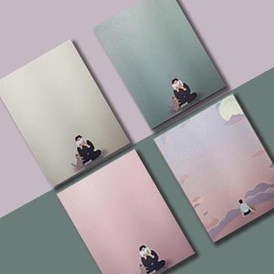 [떡메모지] 동주와 고양이 감성 디자인 메모지 4종