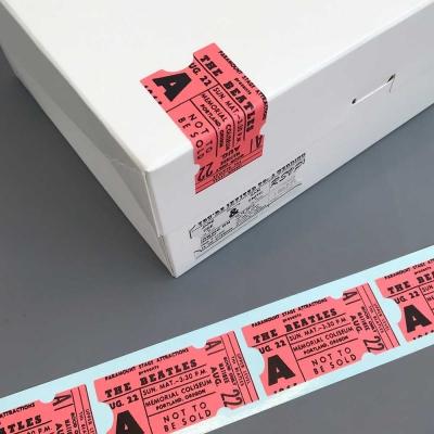 [소행섬] 티켓 롤스티커 (핑크)