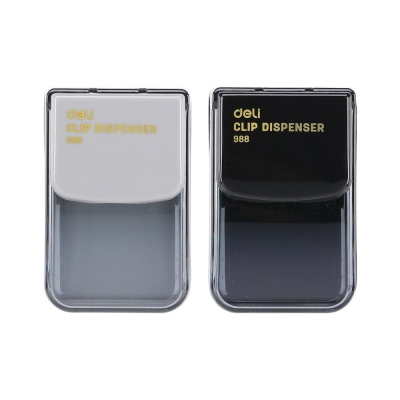 DELI 투명 클립 디스펜서 E988