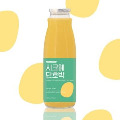 푹 삶은 단호박의 향이진한 진짜식혜! 시크혜단호박 1000ml
