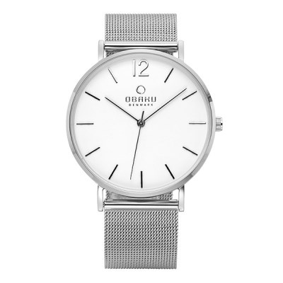 OBAKU 오바쿠 V197GXCWMC MARK STEEL 40mm 남성메탈_(1292488)
