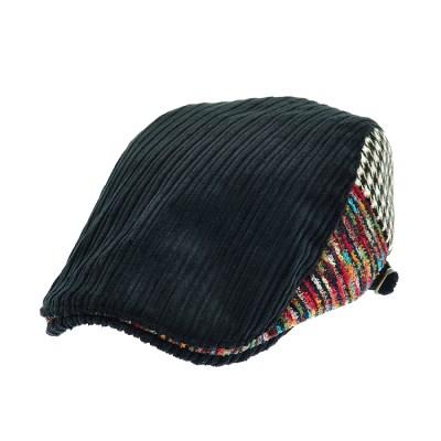 [플릭앤플록]RMH46. 2 패턴 코듀로이 헌팅캡 남성 모자