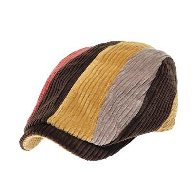 [플릭앤플록]RMH45. 4 칼라 코듀로이 헌팅캡 남성 모자