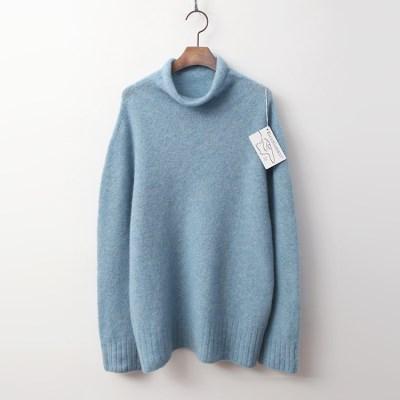Laine Yak Wool Turtleneck Sweater