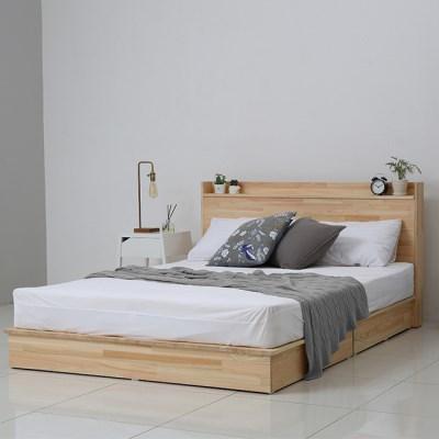 [야테카오리] 피톤치드 편백나무 꿀잠 침대(Q)