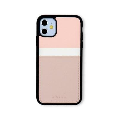 스매스 아이폰11 보호 카드케이스 씨원_핑크