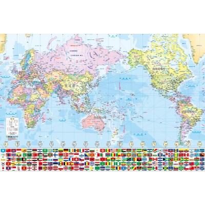 세계지도 100x70cm 하드 코팅 지도
