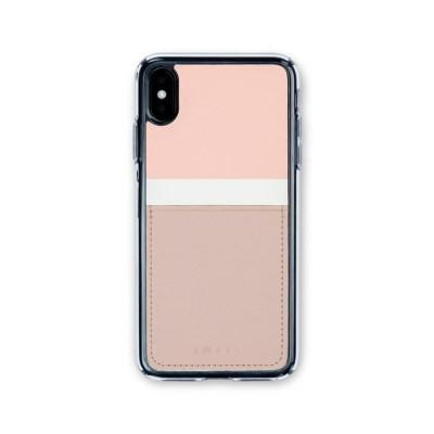스매스 아이폰XR/XS MAX 보호 카드케이스 씨원_핑크