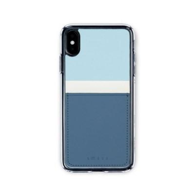 스매스 아이폰XR/XS MAX 보호 카드케이스 씨원_블루