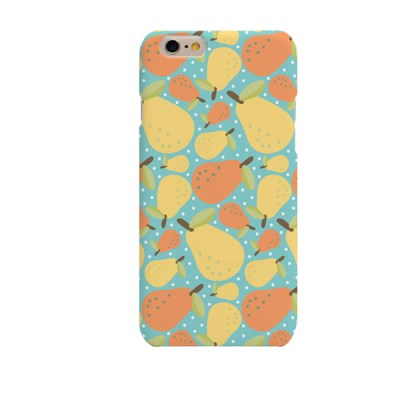 Pear Illustration (HE-142C) Hard Case