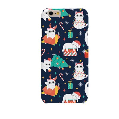 Cats Christmas Pattern (HA-061B) Hard Case