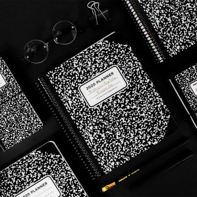 [1+1] 2020 체인저블 다이어리-컴포지션 블랙 (Composition Black)