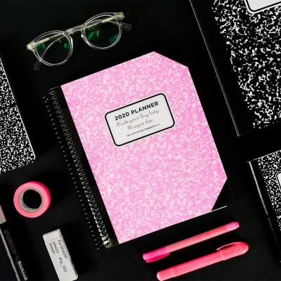 [1+1] 2020 체인저블 다이어리-컴포지션 핑크 (Composition Pink)