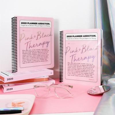 [1+1] 2020 체인저블 다이어리-핑크 블랙 테라피 (Pink Black Therap