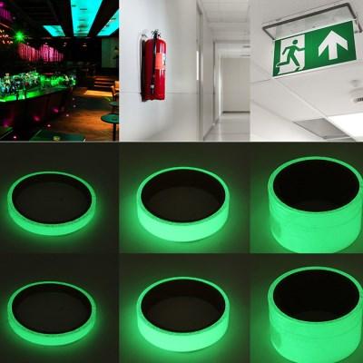 야간 빛 반사 야광 시트지 스티커 테이프  2cm (3m)_(1387912)