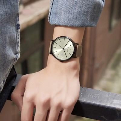 [쥴리어스 옴므] JAH-109 남성시계 손목시계 가죽밴드
