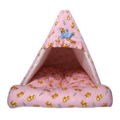 강아지쿠션 하우스 스위티 프렌즈베어 하우스(핑크)_(1276176)