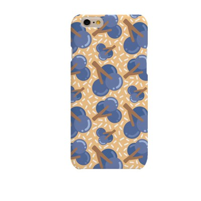 Blueberry Illustration (HE-147C) Hard Case