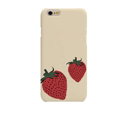 Stawberry Illustration (HE-145A) Hard Case